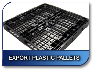 Export Plastic Pallets and Shipping Container Supplies